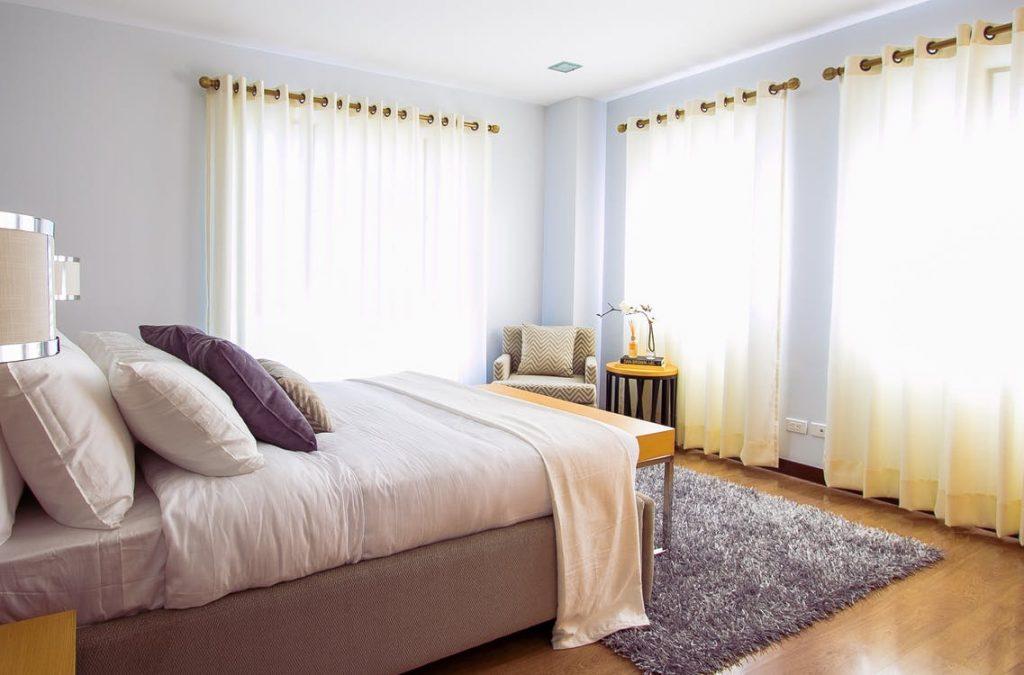 tapis chambre à coucher
